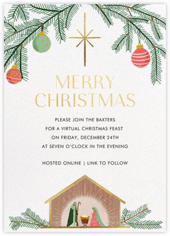 Merry Manger - Paperless Post - Invitations