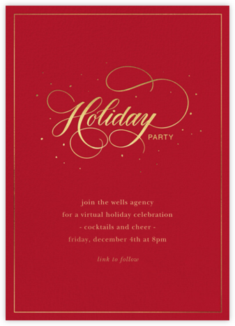 Jolly Holiday - Sugar Paper - Virtual Parties