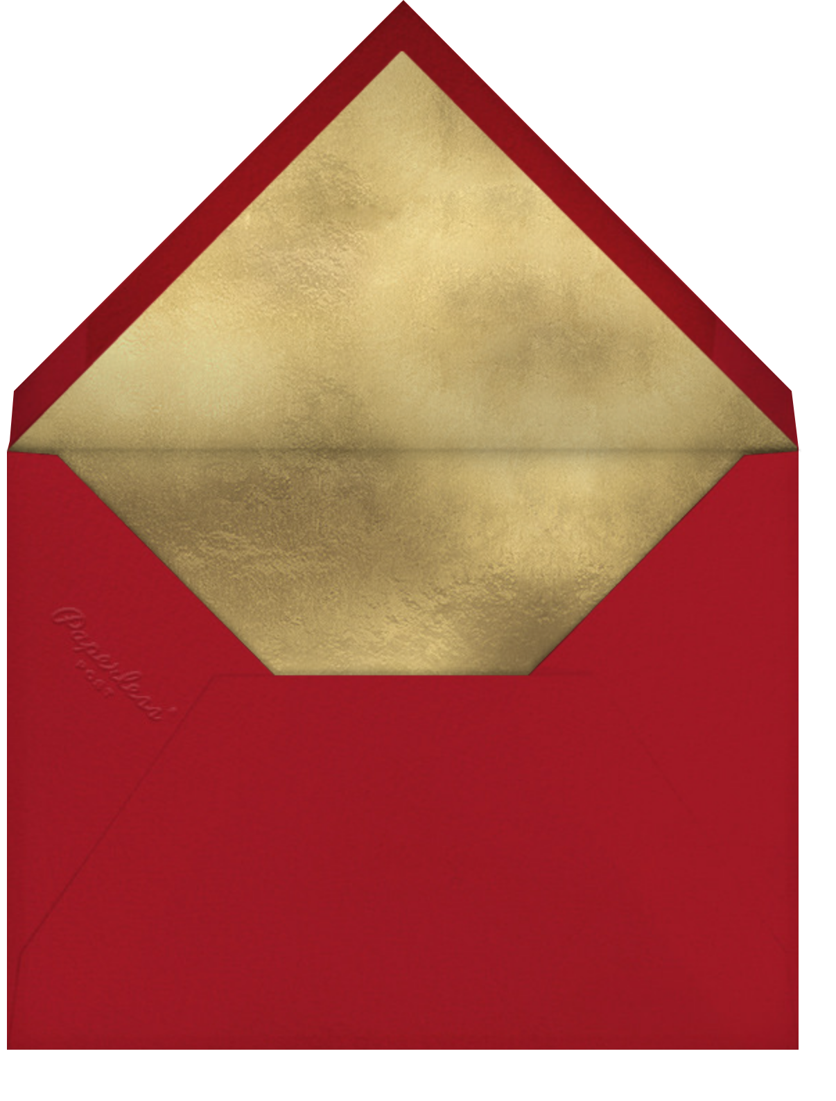 Holiday Sprinkles - Sugar Paper - Christmas party - envelope back
