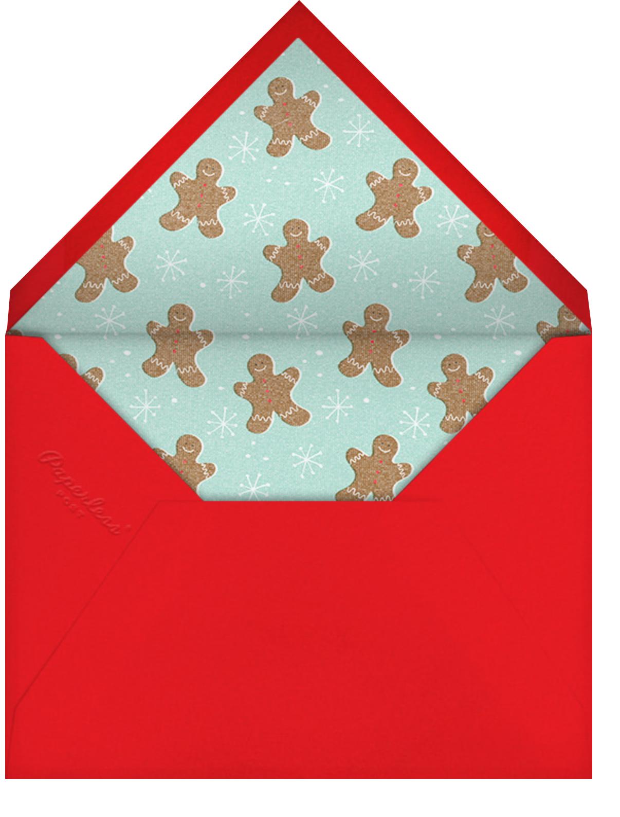 Full House - Paperless Post - Christmas party - envelope back