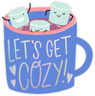 Marshmallow Mug - Hello!Lucky - Winter Party Invitations