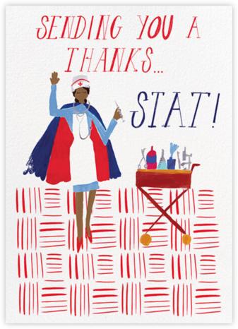 Thank You, Stat - Tan - Mr. Boddington's Studio - Online Greeting Cards