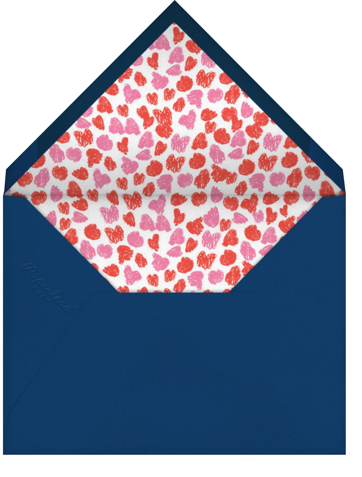 Paddle to Bliss (Save the Date) - Medium/Deep - Mr. Boddington's Studio - Save the date - envelope back