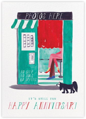 Five Seconds - Light - Mr. Boddington's Studio - Anniversary Cards