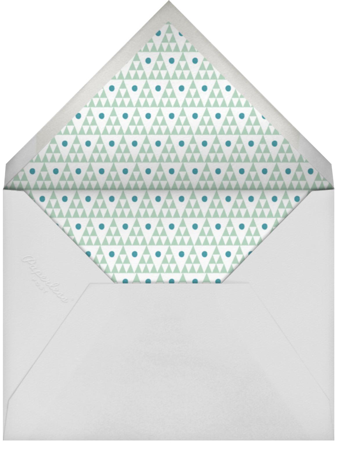 Five Seconds - Tan - Mr. Boddington's Studio - Anniversary cards - envelope back