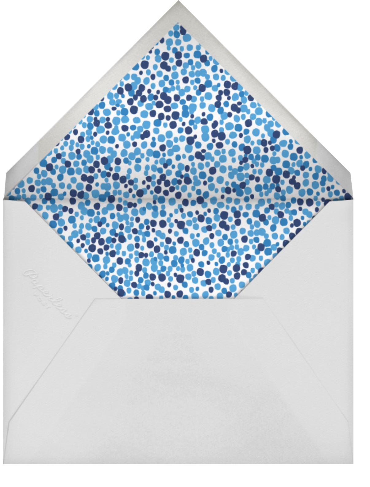 Gimlet for the Grad - Tan - Mr. Boddington's Studio - Graduation - envelope back