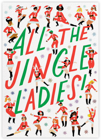 Jingle Ladies - Hello!Lucky - Hello!Lucky Cards