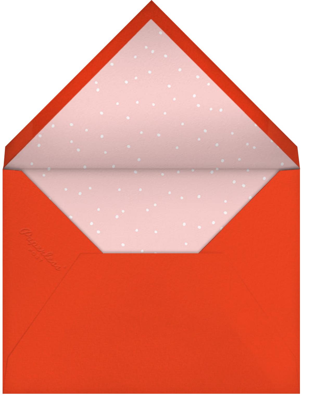 Llots of Llove - Hello!Lucky - Christmas - envelope back