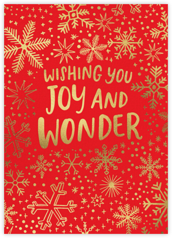 Joy and Wonder - Hello!Lucky - Holiday Cards