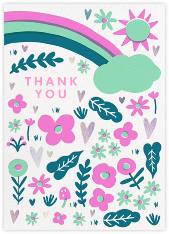 Silver Meadow - Hello!Lucky - Online Thank You Cards