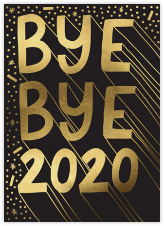 Bye Bye - Hello!Lucky - New Year's Eve Invitations
