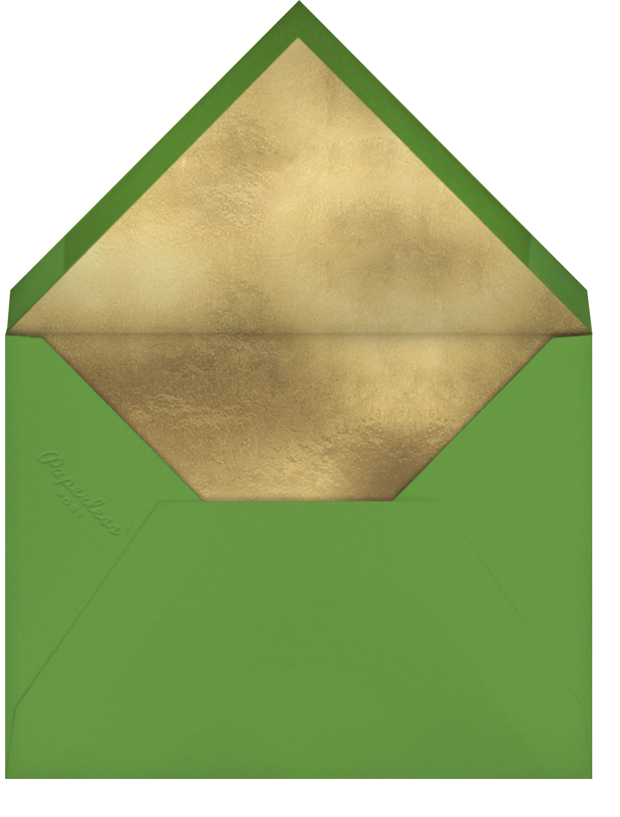 Elf Hour - Hello!Lucky - Christmas party - envelope back