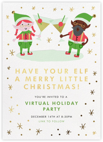Elf Hour - Hello!Lucky - Invitations