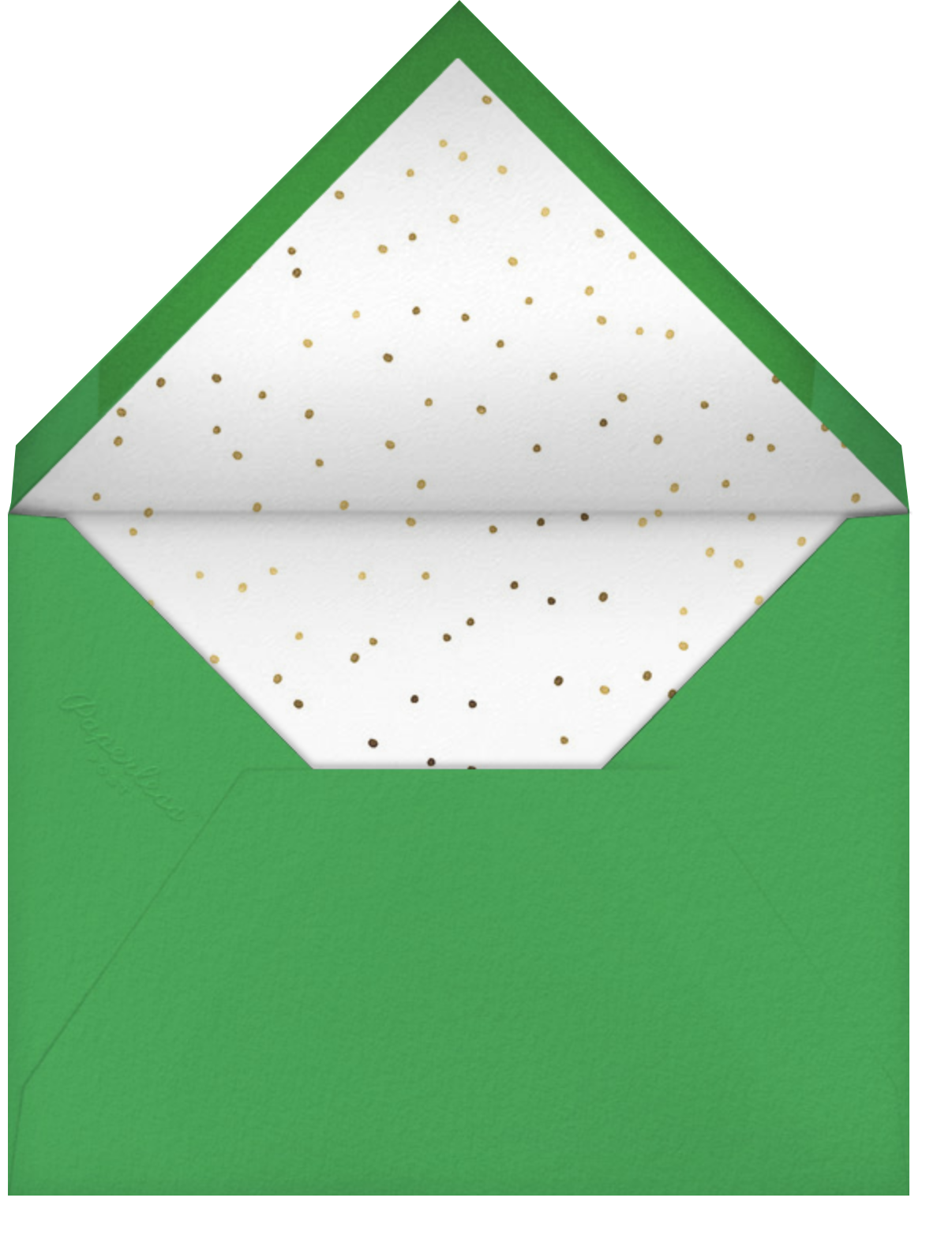 Pining - Hello!Lucky - Holiday cards - envelope back