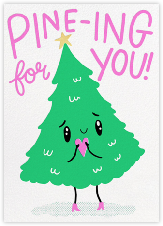 Pining - Hello!Lucky - Covid Christmas Cards