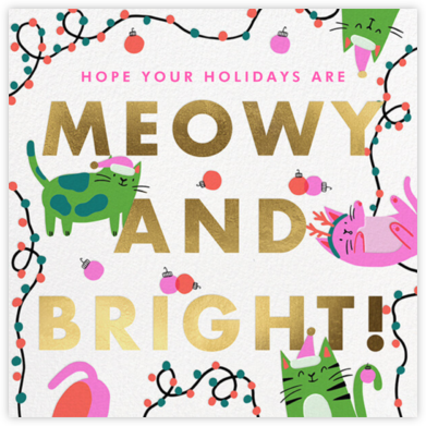 Bright Cats - Hello!Lucky - Hello!Lucky Cards