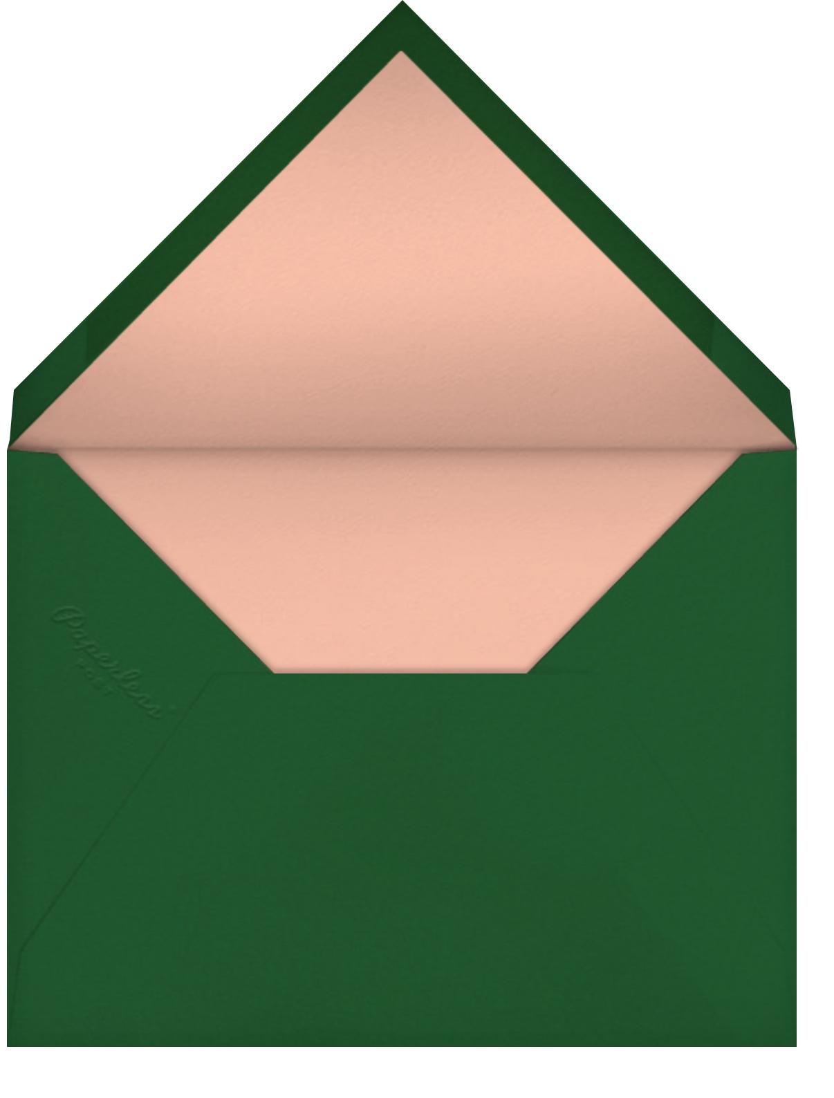 Gift Truck (Blanca Gómez) - Tan - Red Cap Cards - Birthday - envelope back
