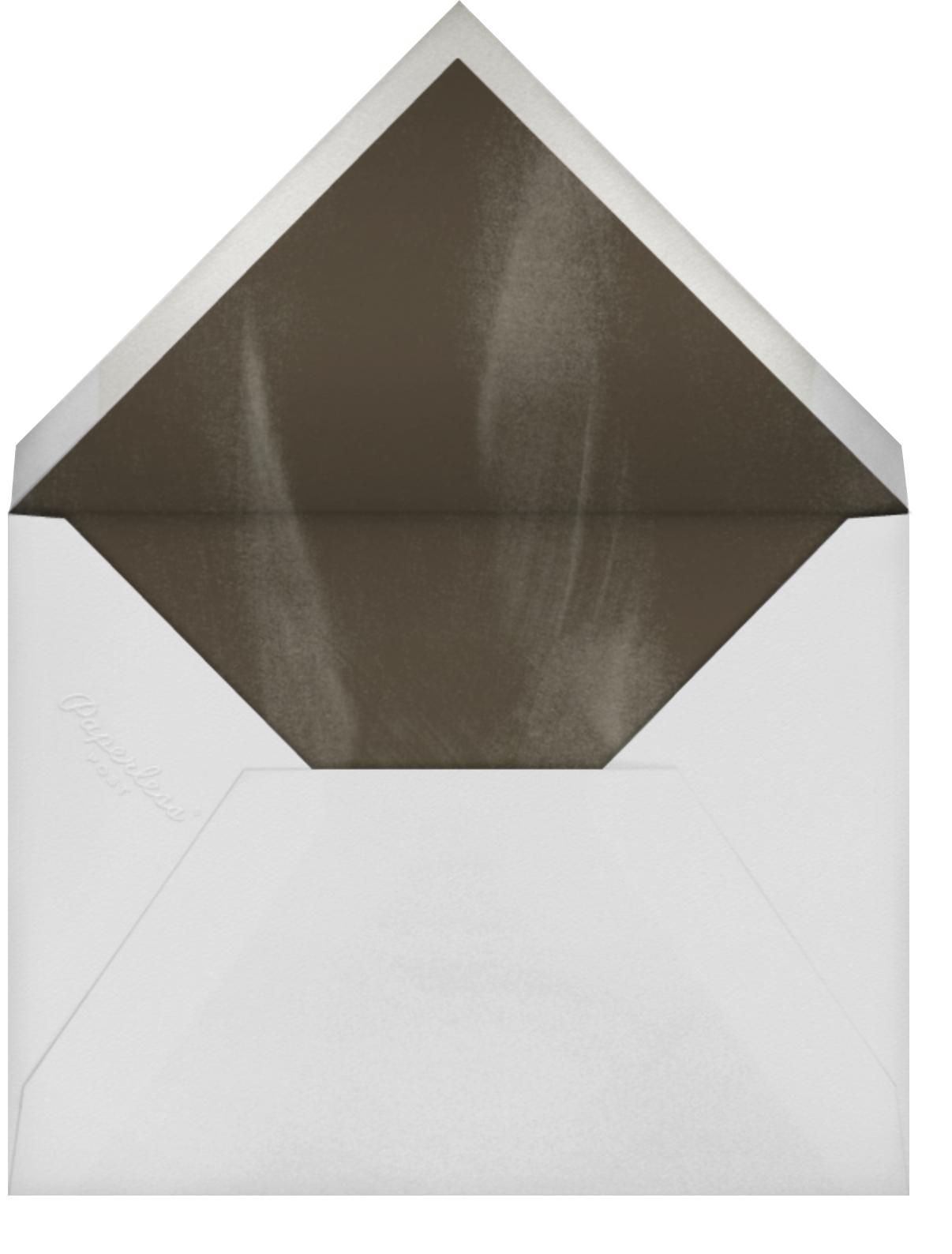 Thanksgiving Food - Paperless Post - Adult birthday - envelope back
