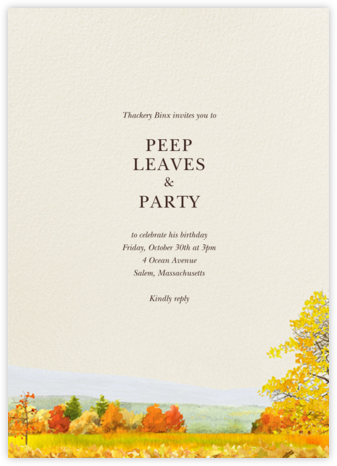 Buckhannon - Felix Doolittle - Adult Birthday Invitations