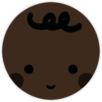 Baby Face (Black) - Deep - The Indigo Bunting - Indigo Bunting
