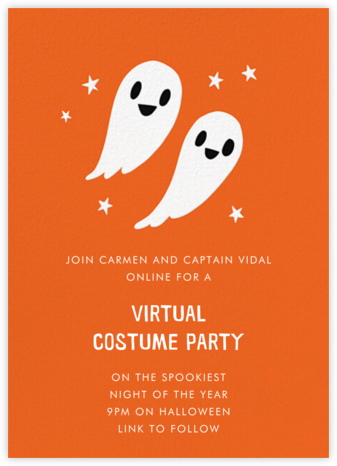 Two Boos - Hello!Lucky - Halloween invitations