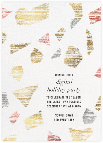 Prism Facet - Kelly Wearstler - Holiday invitations