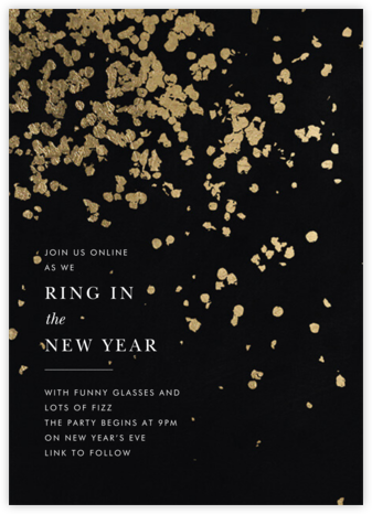 Neve - Black - Kelly Wearstler - New Year's Eve Invitations