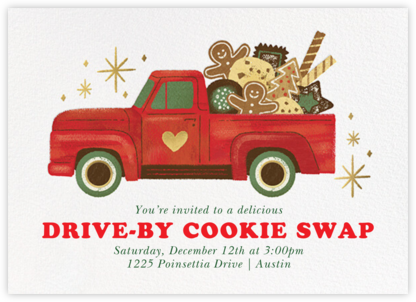Tasty Truck - Paperless Post - Cookie Swap Invitations