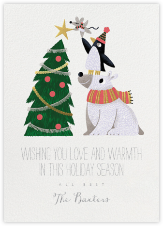 Teamwork - Paperless Post - Holiday Cards