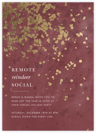 Neve - Puce - Kelly Wearstler - Holiday invitations