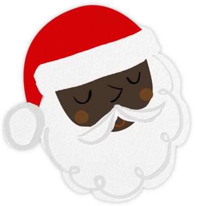 Santa's Satisfied - Deep - Meri Meri -
