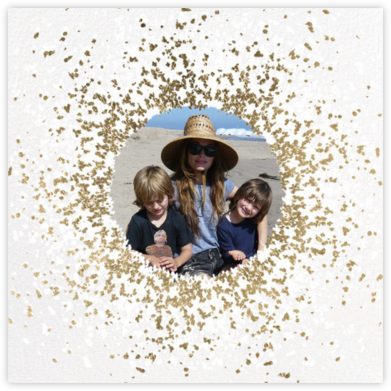 Frosted Photo - White/Gold - Kelly Wearstler -