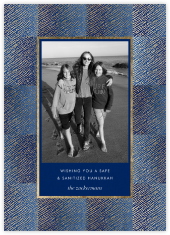 Surge - Indigo - Kelly Wearstler - Hanukkah Cards