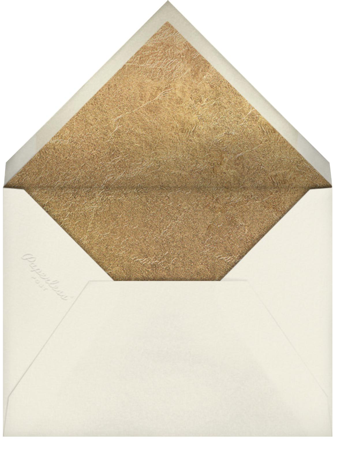 Surge - Crimson - Kelly Wearstler - Christmas - envelope back