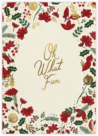 Vintage Christmas - Rifle Paper Co. - Virtual Parties