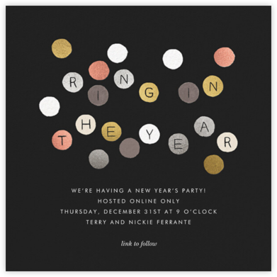Ring in the New Year - Rifle Paper Co. - New Year's Eve Invitations