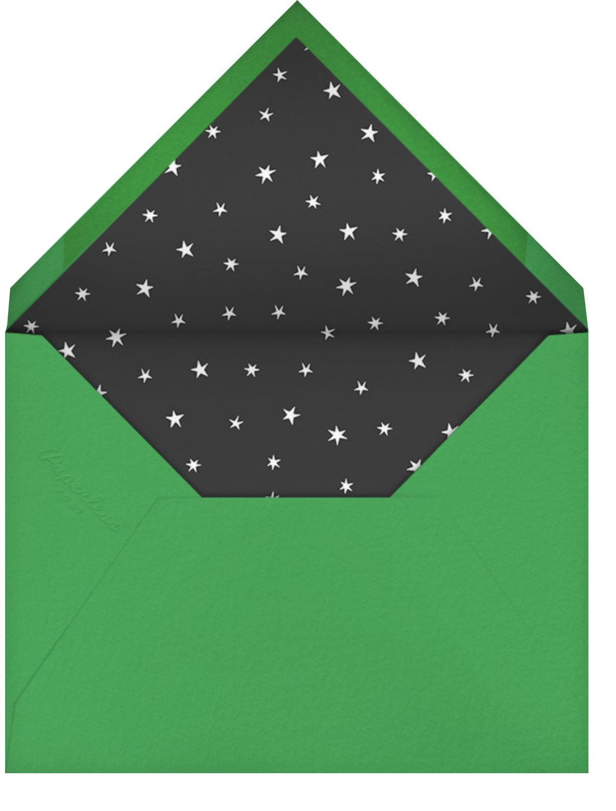 Waves of Change - Paperless Post - Kwanzaa - envelope back