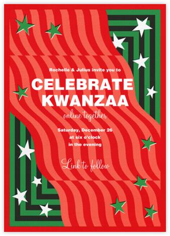 Waves of Change - Paperless Post - Kwanzaa Invitations