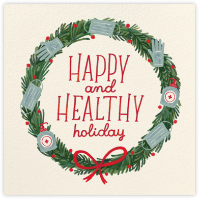 Healthy Wishes - Paperless Post - Holiday Cards