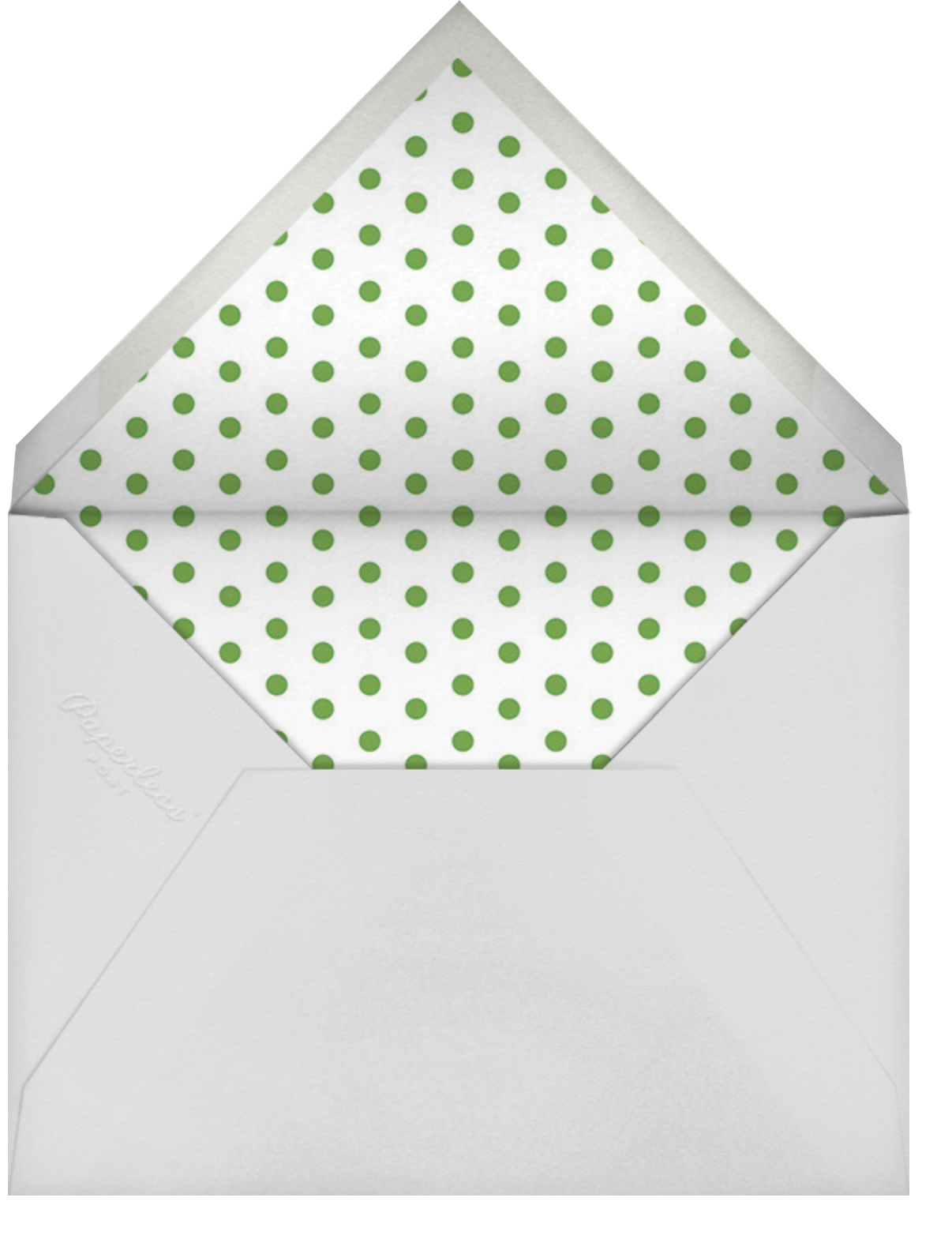 Christmas Spirit - Rifle Paper Co. - Christmas party - envelope back