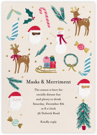Christmas Classics - Meri Meri - Holiday invitations