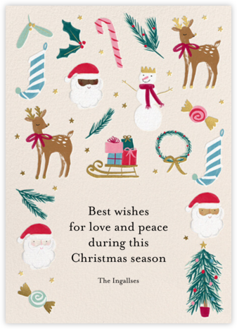 Christmas Classics - Meri Meri - Holiday Cards