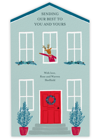 Window Welcome - Meri Meri - Holiday Cards