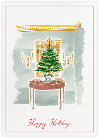 Holiday Foyer - Paperless Post - Holiday Cards