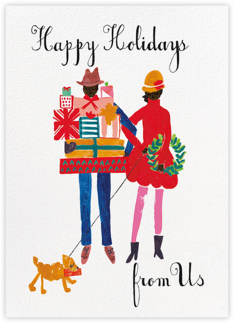 Darling, Can You Please Hold This - Deep - Mr. Boddington's Studio - Holiday Cards