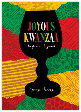 Joyous Kwanza (Greeting) - Paperless Post - Kwanzaa Cards