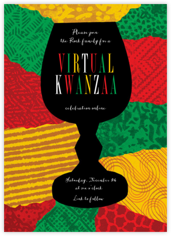 Joyous Kwanza (Invitation) | square
