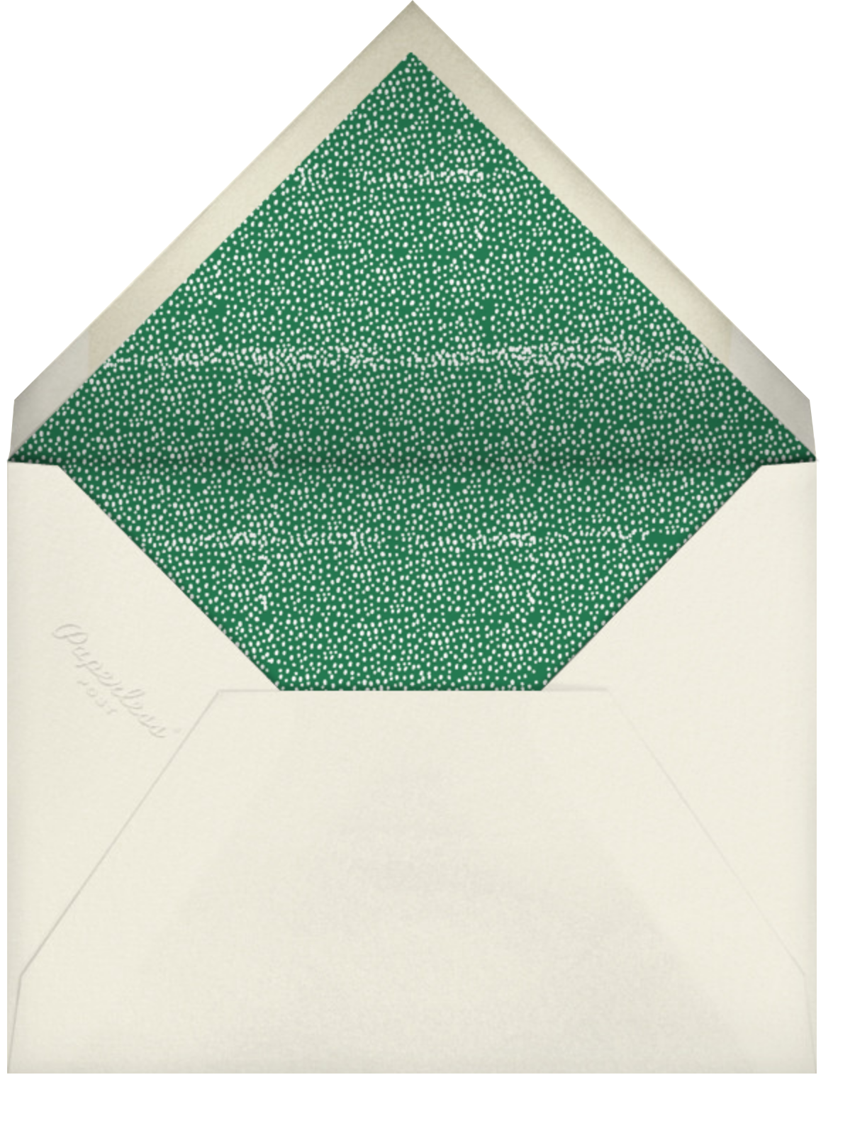 Balancing Act - Mr. Boddington's Studio - Christmas party - envelope back