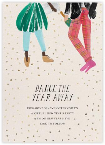 New Year's Dance - Deep/Fair - Mr. Boddington's Studio - New Year's Eve Invitations