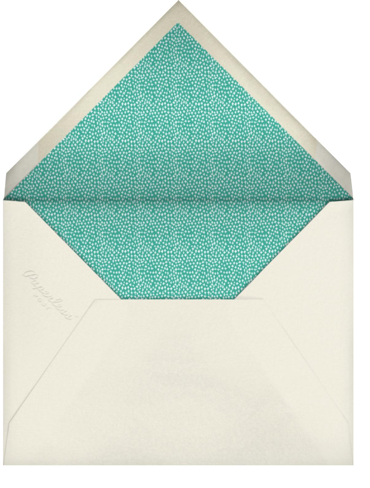 Wrapped Up Nicely - Mr. Boddington's Studio - Christmas party - envelope back